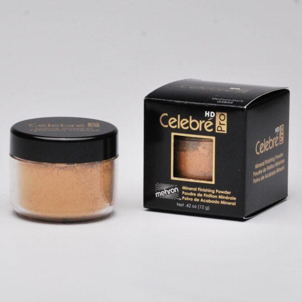 Mehron celebre mineral powder medium/dark
