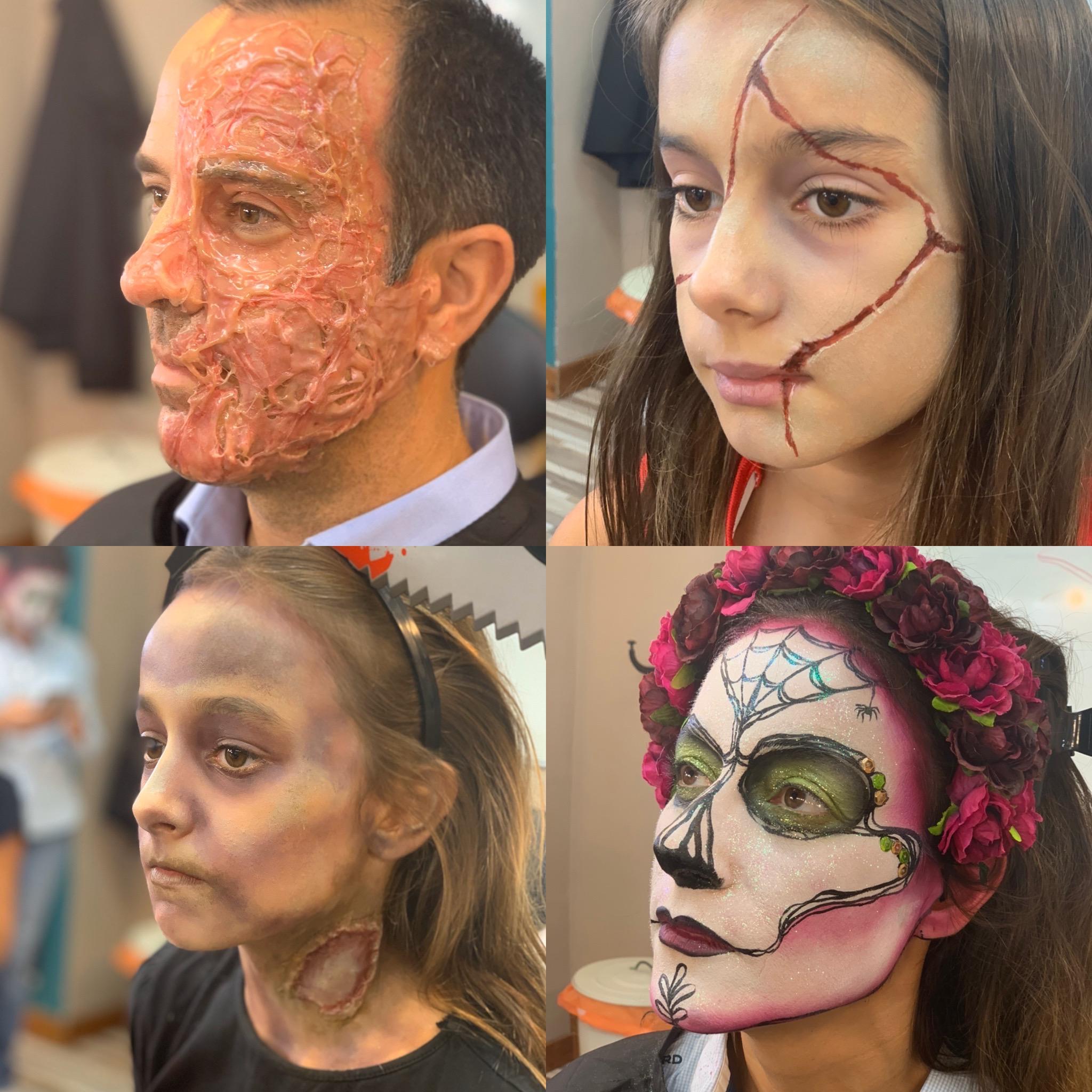 halloween caracterizacion escuela cursos maquillaje profesional bilbao comprar españa tienda online