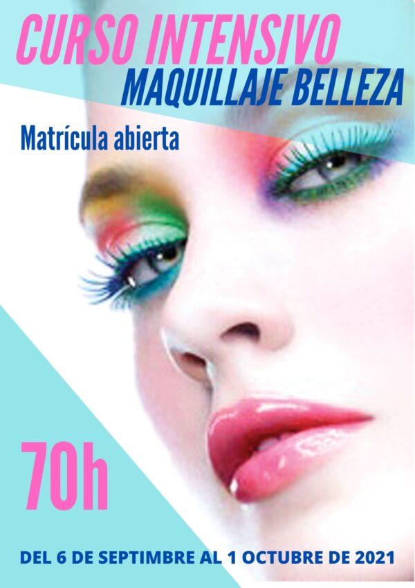 curso INTENSIVO maquillaje de belleza bilbao escuela academia formacion profesional mejor