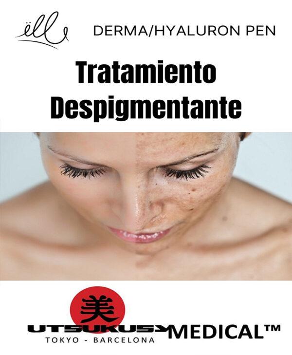 tratamiento despigmentante derma hyaluron pen bilbao