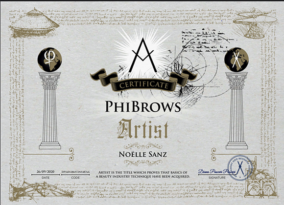 diploma microblading phibrow micropigmentación bilbao