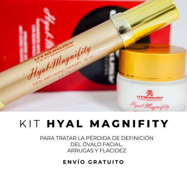 kit hyal magnifity utsukusy comprar piel tratamiento serum crema bilbao
