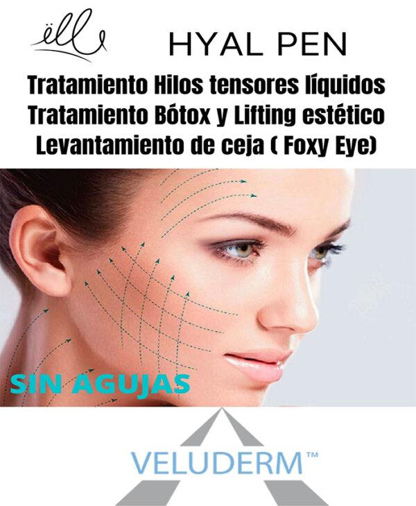 tratamiento hilos tensores liquidos botox lifting foxy eye hyal pen sin agujas bilbao