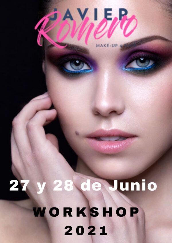 curso workshop formación bilbao Javier Romero maquillaje profesional