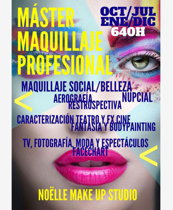 Curso Máster en Maquillaje Profesional Bilbao bizkaia vizcaya