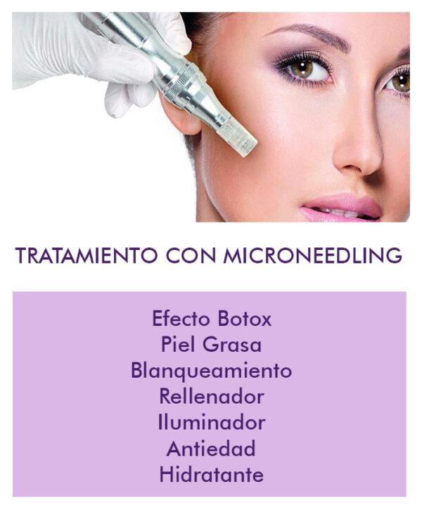 microneedling tratamiento bilbao