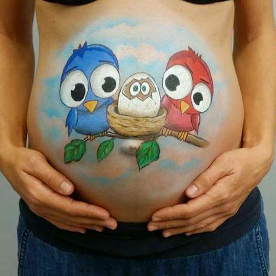 bellypainting servicio embarazadas bodypaint bilbao