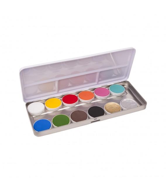 paleta aqua paint 12 tonos pankro bilbao comprar online españa