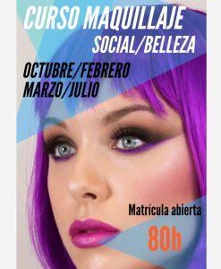 Curso de maquillaje Social Belleza Bilbao bizkaia vizcaya