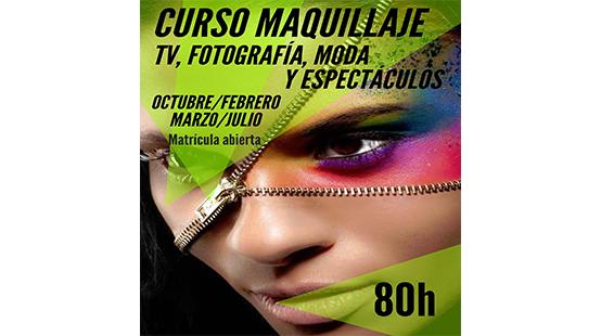 curso maquillaje tv fotografia moda espectaculo bilbao